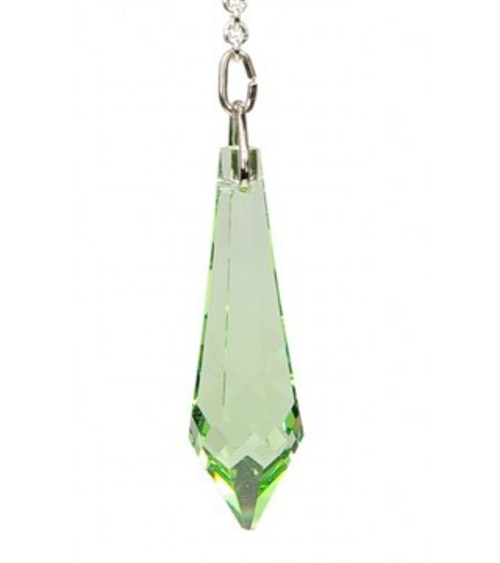 Pendule Cristal Vert clair