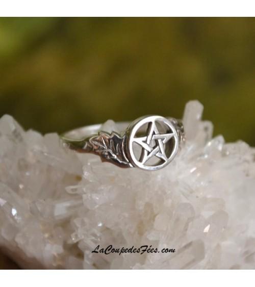 Bague Pentagramme en Argent