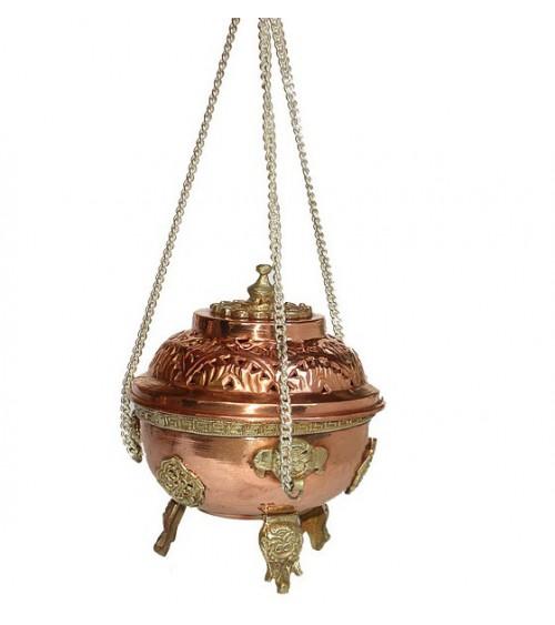 Encensoir à chaine en Cuivre