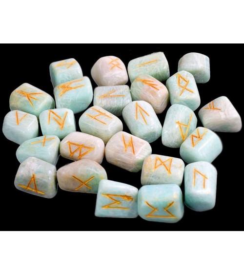 Runes en Amazonite