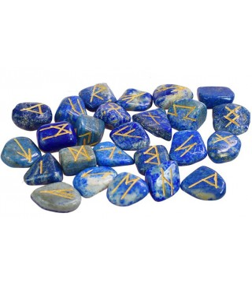 Runes en Lapis Lazuli