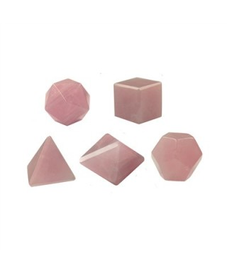 Solides Quartz Rose