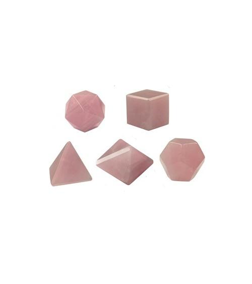 Solides Quartz Rose