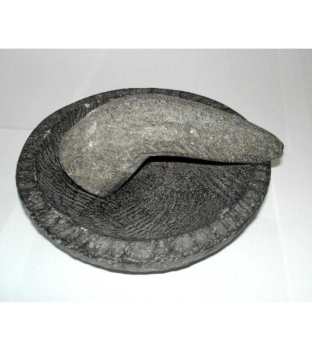 Mortier en Pierre de Lave