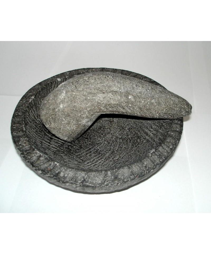 mortier en pierre de lave boutique sot rique la coupe. Black Bedroom Furniture Sets. Home Design Ideas