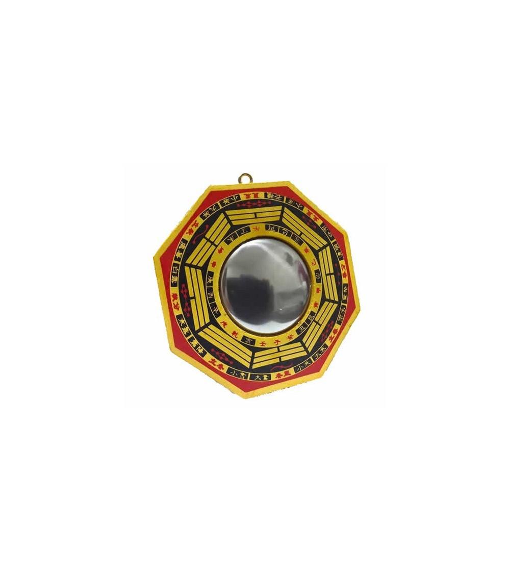 Miroir convexe pa kua for Miroir feng shui