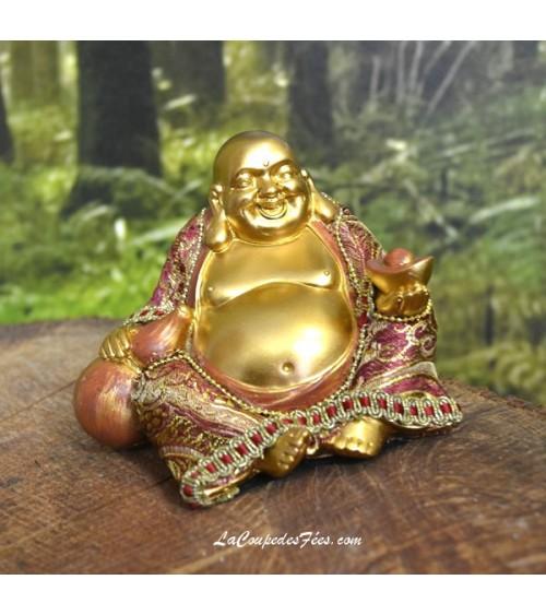 Bouddha rieur doré