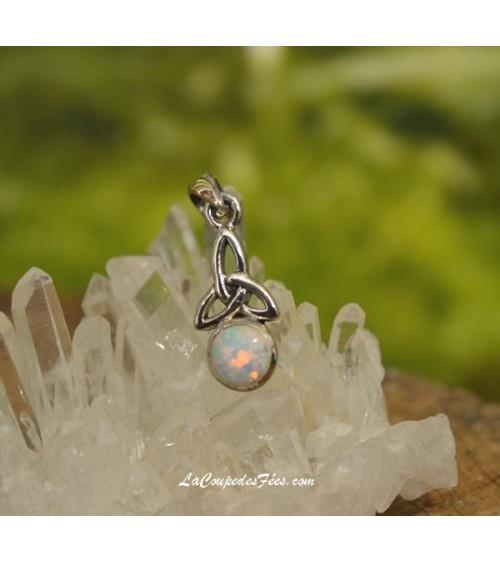 Pendentif Celtique Opale