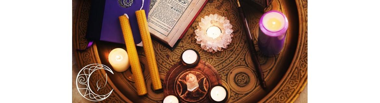 Boutique ésotérique : vente de cierges, neuvaines, bougies & bougeoirs