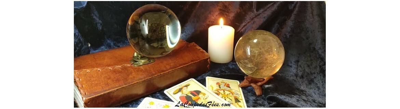 Boutique ésotérique en ligne - Vente de boule de Cristal & accessoires de voyance
